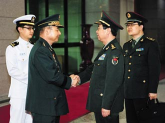 Asian american military heads of china s korea raise ties to unprecedented cooperation sciox Gallery