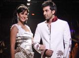 Katrina Kaif & Ranbir Kapoor at Wills