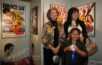 Asian American: Bruce Lee's Wife, Daughter Open HK Exhibition