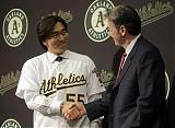 Hideki Matsui Signs with Oakland